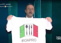 """Crozza- Salvini vuole riaprire tutto: «Con le mani lavate, profumati e senza cerume» L'esilarante imitazione nella nuova puntata di """"Fratelli di Crozza"""" in onda su NOVE - Corriere Tv"""