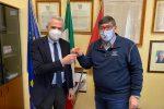 Nella foto Dino Alagna e Mario Paolo Mega