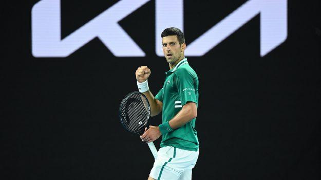 australian open, Tennis, Novak Djokovic, Sicilia, Sport