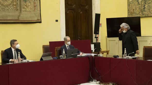 governo, m5s, Barbara Lezzi, Giovanni Di Caro, Mario Draghi, Sicilia, Politica