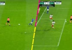 Messico, l'arbitro impedisce il gol con il corpo Un episodio che ha influito pesantemente, il Toluca ha perso contro il Cruz Azul per tre a due - Dalla Rete