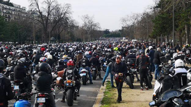 francia, Moto, parigi, protesta, Sicilia, Mondo