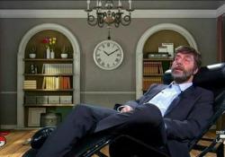 Neri Marcorè e la psicanalisi del ministro Franceschini A «diMartedì» su La7 l'attore nei panni del ministro della Cultura - Corriere Tv