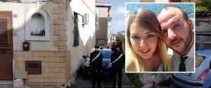Nel riquadro la vittima Piera Napoli e il marito Salvatore Baglione che ha confessato l'omicidio