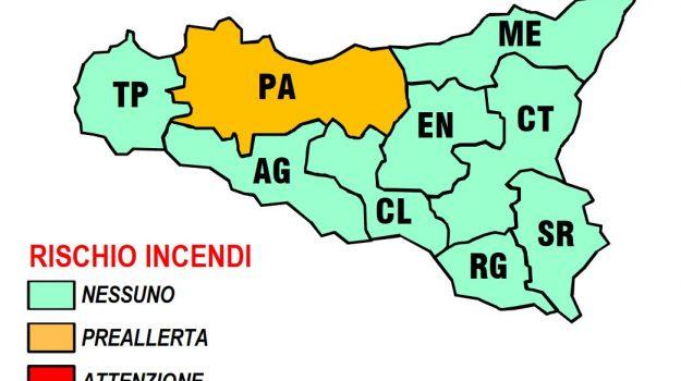 incendi, protezione civile, Palermo, Cronaca