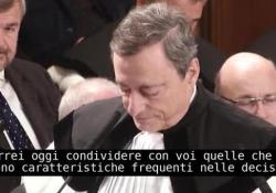 """Università Cattolica, l'intervento di Mario Draghi in occasione del conferimento della Laurea honoris causa Il discorso """"Policy making, responsabilità e incertezza"""" l'11 ottobre 2019 - Corriere Tv"""