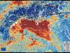 Linquinamento sul Nord Italia nellimmagine del satellite europeo Sentinel 5P (fonte: European Union, Copernicus Sentinel-5P imagery)