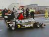 Guinness Record, Andretti su auto-torta a 27,5 km allora