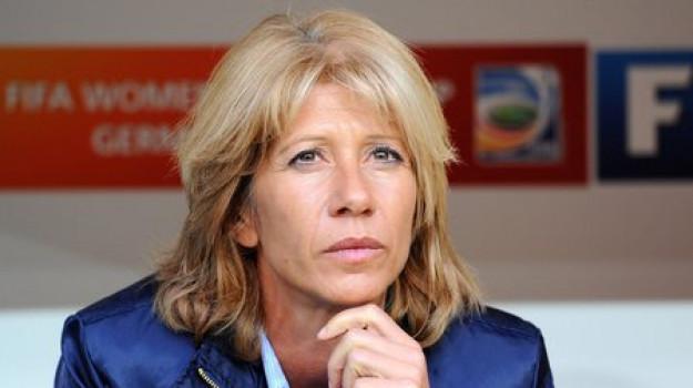 Carolina Morace, Sicilia, Calcio