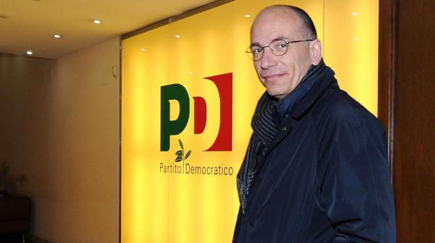 pd, Enrico Letta, Sicilia, Politica