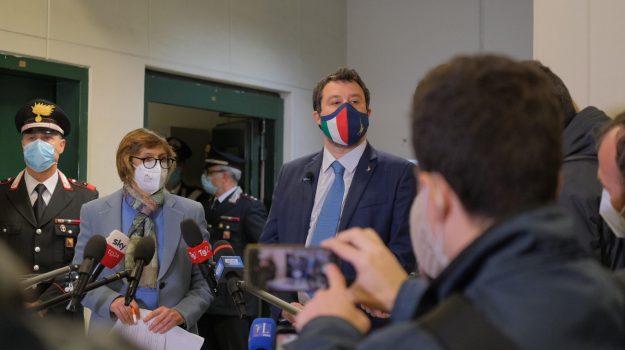 Lega, migranti, Matteo Salvini, Palermo, Cronaca