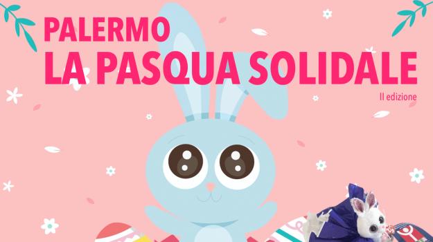 bambini, Pasqua, Palermo, Società