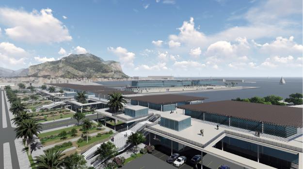 porto di palermo, stazione marittima, Pasqualino Monti, Sicilia, Economia