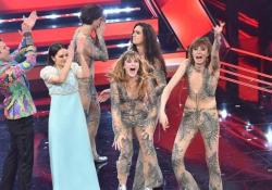 A Sanremo vince il rock dei Maneskin  Terzo posto per Ermal Meta e secondo per Francesca Michielin e Fedez - Ansa