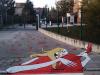 Campobasso, street art per strisce pedonali per bambini