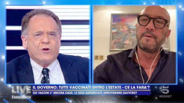 televisione, Alessandro Cecchi Paone, Walter Zenga, Sicilia, Società