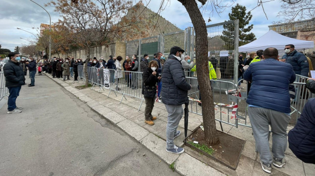 fiera del mediterraneo, vaccini, Palermo, Cronaca