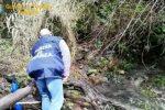 Messina, scarichi abusivi nel fiume Postoleone: sequestrato un impianto di depurazione