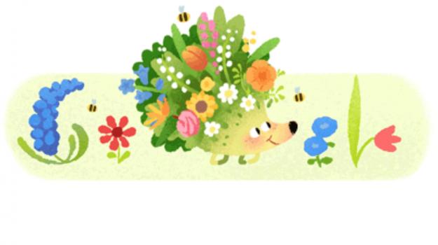 doodle, equinozio di primavera, google, PRIMAVERA, Sicilia, Società