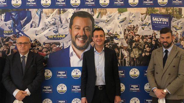 Lega, Mario Fontana, Vincenzo Fontana, Agrigento, Politica