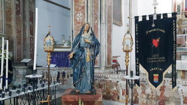 Settimana santa, Trapani, Cultura