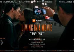 «Living in a Movie», il corto di Gabriele Muccino girato tutto con lo smartphone  - Corriere Tv