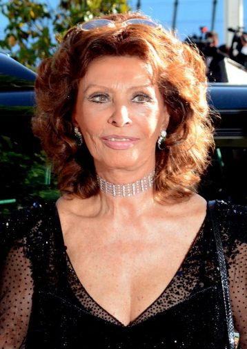 La Loren è considerata una delle più celebri attrici italiane della storia del cinema