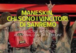Maneskin, chi sono i vincitori di Sanremo Da X Factor al trionfo al Festival con