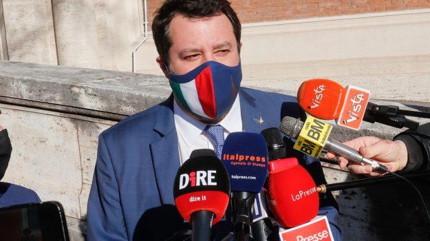 cimitero rotoli, Lega, Matteo Salvini, Palermo, Politica