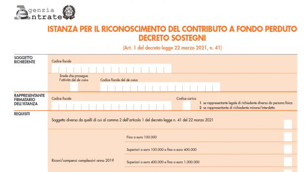 decreto sostegni, governo, Sicilia, Economia