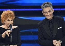 Ornella Vanoni bacchetta Fiorello: «Ma perché canti anche tu?» La cantante ne ha anche per il direttore d'orchestra: «Guarda De Amicis come si è pettinato» - Ansa