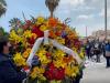 Palermo, la protesta dei precari Asu in piazza del Parlamento: finto funerale con tanto di ghirlanda