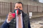 """Caso Gregoretti, Salvini a Catania per la quinta udienza: """"Abbiamo difeso i confini italiani"""""""