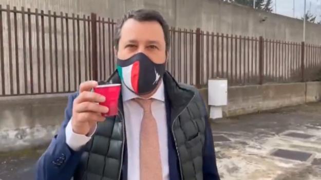 Gregoretti, Lega, migranti, Matteo Salvini, Catania, Cronaca