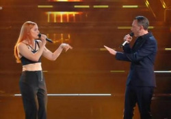 Sanremo, per Noemi e Neffa duetto fuori tempo I due artisti aprono la serata dei duetti e vanno insieme fuori tempo - Ansa