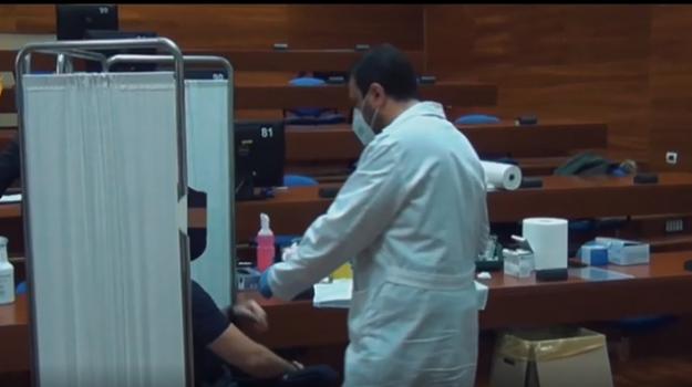 coronavirus, polizia, vaccino, Palermo, Cronaca