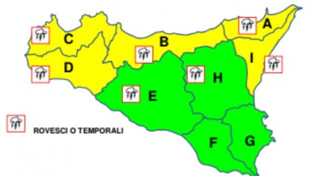 Maltempo, meteo, Sicilia, Cronaca