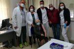Coronavirus, vaccini di prossimità per over 80 a Barrafranca: la prima è una signora di cento anni