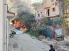 Incendio a Porto Empedocle, in fiamme la discarica dietro il municipio