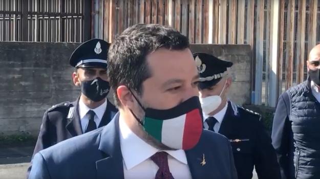 Matteo Salvini, Agrigento, Politica