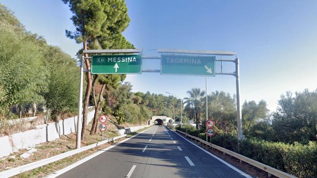 autostrada messina catania, Messina, Cronaca
