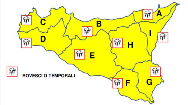 allerta meteo, meteo sicilia, previsioni meteo, Sicilia, Meteo
