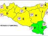 Meteo, ancora maltempo in Sicilia: allerta gialla per forti piogge in arrivo