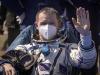 La  Soyuz con 3 astronauti rientrata da Iss