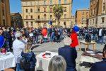 Coronavirus, cento tavoli in strada a Enna per la protesta dei ristoratori