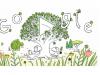 Il doodle di Google dedicato alla Giornata della Terra