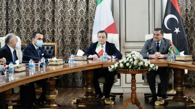 governo, libia, Mario Draghi, Sicilia, Politica