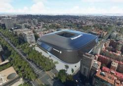 Ecco come sarà il nuovo Bernabeu: la simulazione è spettacolare Una volta completati i lavori di ristrutturazione, il Santiago Bernabeu diventerà uno degli stadi più moderni del mondo - CorriereTV
