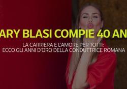 Ilary Blasi compie 40 anni La carriera e l'amore per Totti: ecco gli anni d'oro della conduttrice romana - Ansa