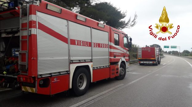 incendio, santa croce camerina, Ragusa, Cronaca